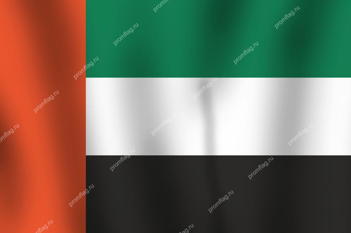 Флаг Объединенных Арабских Эмиратов (ОАЭ)