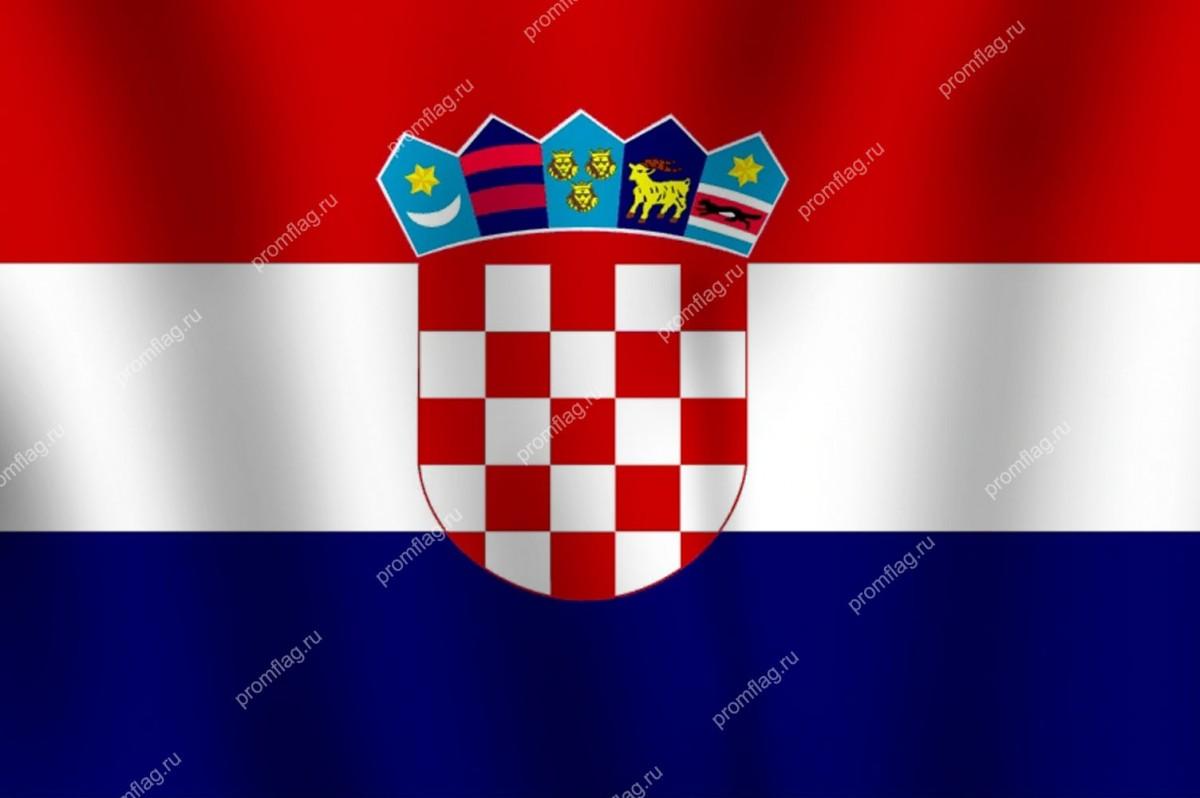 Флаг Хорватии